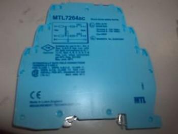 4 MEASUREMENT TECHNOLOGIES MTL7264AC SHUNT DIODE SAFETY BARRIER (BIN61)