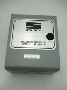 Sta Rite 2hp Submersible Motor Control for Water Pump VIP4G02-07B Sta-Rite 2 HP
