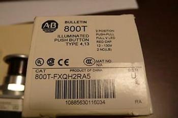 ALLEN BRADLEY 800T-FXQH2RA5 ILLUMINATED PUSH BUTTON