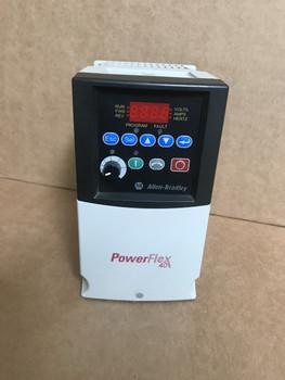 -ALLEN BRADLEY POWERFLEX 40 AC-Drive 22B-D1P4N104  .5HP