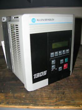 Allen Bradley Drive CAT# 1305-BA06A, 2.2 KW, 3 HP, 380-460 Volt, 5.8/6.0 Amps