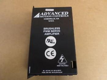 Advanced Motion Control Brushless PWM Servo Amplifier