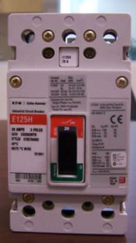 Cutler Hammer EGH EGH3020FFB - 3Pole, 20Amp, 480Volt  BRAND NEW