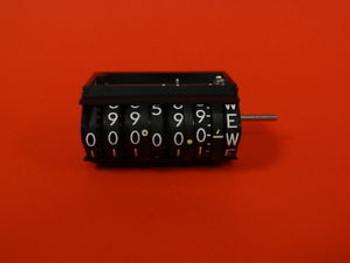 Veeder-Root 7 Digit Readout Counter, P/N: V-179706-101