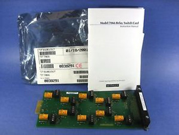 Keithley  -  7066 Relay Switch Card for 7001/7002 Switch System New
