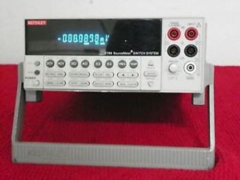 KEITHLEY 2790 SOURCEMETER  with 7751 High Volt Source Switch Module Included
