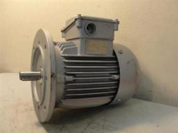 25709 New-No Box, Emod SM80L/6BN AC Motor .88Hp 220/440V 1100rpm 3-Phase