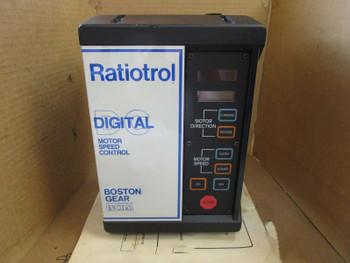 Boston Gear Ratiotrol Digital Motor Speed Control Drive Ved100M Ved-100-M