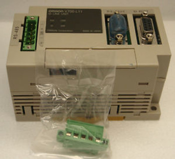 Omron V700-L11, ID ID Link Unit +/-24VDC, RS-232 Inerface with RS-485 Interface