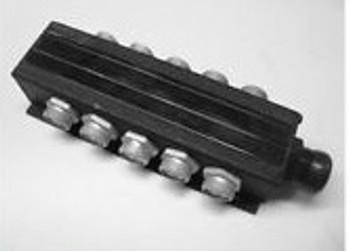 SCC 8900-3-10-3  TYPE B 10-PORT JUNCTION BOX AC MINI 3-POLE RECEPTACLE, NEW