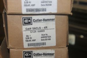 New Cutler-Hammer and Westinghouse High Voltage Fuse - 5ACLS-4R FUSE