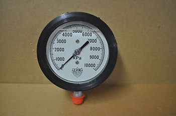 HYDRO-POISE Gauge  10000 kPa NEW  4 1/2