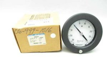 NEW ASHCROFT 45 1377PS 02B XC9 0-30IN-HG 0-30PSI PRESSURE GAUGE D460917
