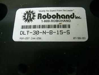 ROBOHAND DLT-30-N-B-15-S LINEAR BASE THRUSTER NEW