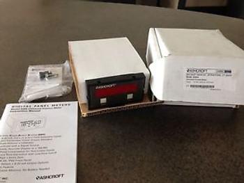ASHCROFT 2269A UNIVERSAL PROCESS METER 115 VOLT 50/60 Hz 10VA MAX New
