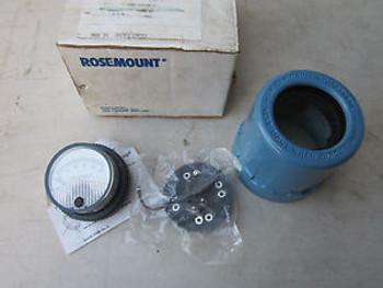 Rosemount 01151-0687-0003 Analog Meter Kit 40-200MV 0-100 Percent NOS
