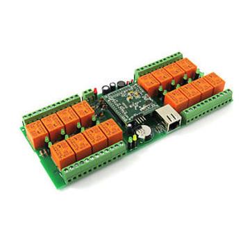 Denkovi LAN Ethernet IP 16 channels WEB Relay board - smartDEN