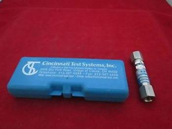Cincinnati Test Systems 520-3.10scc/m-100.0kPa-1 Leak Detection
