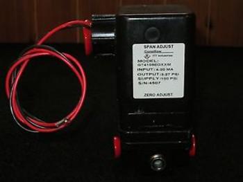 ITT Conoflow GT4108EDXXM Miniature I/P-E/P Transducer 3-27 PSI