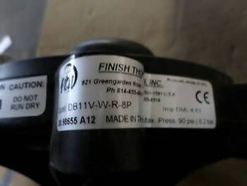 FTI DB11V-W-R-8P NEW IN BOX