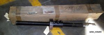 PRECISION BALL SCREW, 42 OAL, TRAVEL 34, DIAMETER 2¼, New