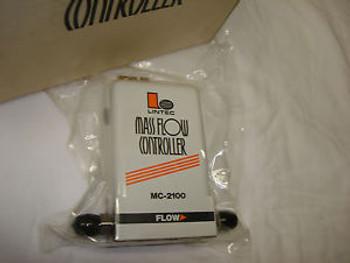 Lintec Mass Flow Controller MFC Unit - MC-2101MC - Gas CHF3 - 100 SCCM - Digital