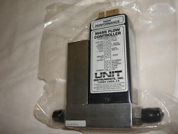 Unit Instruments UFC-1400 - Mass Flow Controller - 5 SLM - Gas N2 797-061746-701