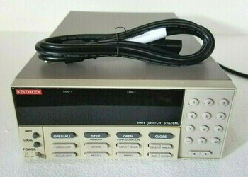 Keithley 7001 80-Channel 2-Slot Switch/Control Mainframe with Power Cord
