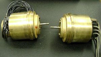 SPERRY SELF SYNCHRONOUS TRANSMITTER MODEL #78359 AND RECEIVER  #78360