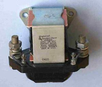 Magnecfaft 103HXX-28D Power Relay 28 V coil, 200 Amp Contacts.