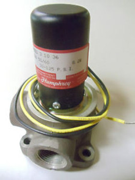 SOLENOID VALVE 3WAY 30-125PSI 8.2W 120V MANUFACTURED BY HUMPHREY