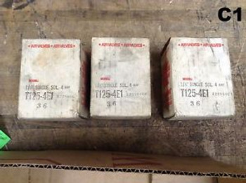 New  3 Humphrey T125-4E1-36 Solenoid Valves 4-Way Valve 1/8 8.2 Watt