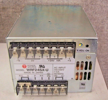 Power Source Wrf24Sx-U Power Supply  Input: 115/230V 7.5A 50/60Hz