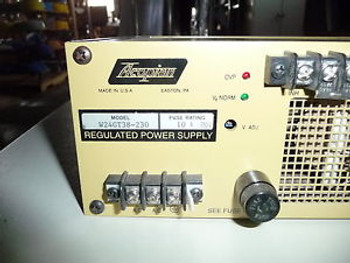 ACOPIAN POWER SUPPLY W24GT38-230