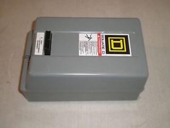 New Square D 8536SCG3V01H109SX22 Starter 8536SCG3H109SX22 24 VAC Coil SS Overld