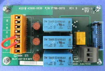 SCIENTIFIC TECHNOLOGIES RELAY BOARD 42998-0030