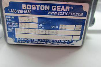 NEW BOSTON GEAR F713-20-B5-G SPEED REDUCER F71320B5G