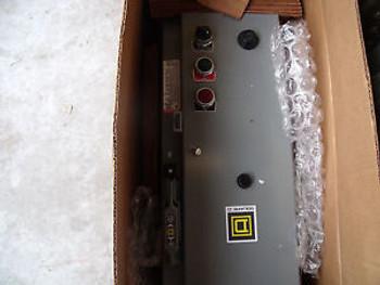 #1424 Square D AC Combo Motor Starter Surplus item8538SBG32V84CFF4H30P1P2TX11Y74