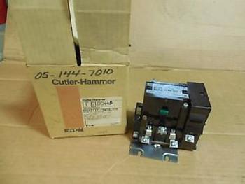 NEW CUTLER HAMMER CONTACTOR C10CN4B SER A1 SIZE 1 SZ 1 240V COIL C10CN4
