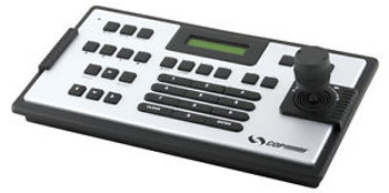 COP Security 15-AU50H 3-Axis PTZ Joystick Keyboard Controller Silver and Black
