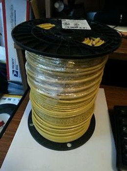 #10 Stranded Yellow Wire Thhn 500 Roll