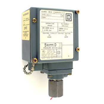 Square D Pressure Switch 9012 GCW1 Series C