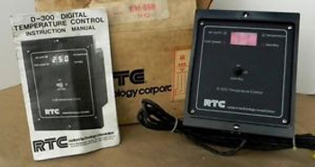 NEW RTC D-300 DIGITAL TEMPERATURE CONTROL~ SCALE SELECTION: ° C - ° F