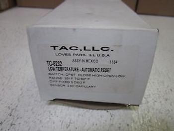 4 TAC, LLC TC-5232 LOW TEMP AUTOMATIC RESET NEW IN A BOX