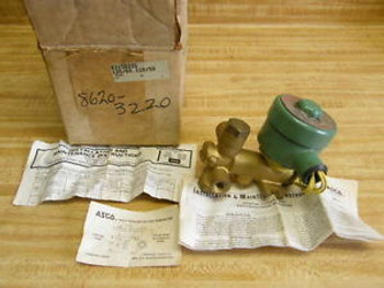Asco 8315d22g  Valve and Explosion Proof Solenoid New