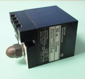 WESTINGHOUSE TON-56 Solid State Time Delay Interlock 177C469G03 Range .2-30 SEC