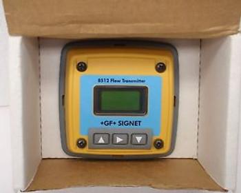 AMAT 1220-01015 FLOW 4-20MA, +GF+ SIGNET FLOW TRANSMITTER 3-8512
