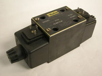 LIKE NEW PARKER D3W4CNYW4 HYDRAULIC SOLENOID VALVE FOR AUTOMATION MACHINE SHOP