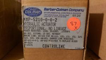 #139 - BARBER COLMAN MP-5210-0-0-2  HYDRAULIC ACTUATOR