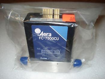 Aera FC-7800CU Mass Flow Controller Range 3SLM, Gas HE